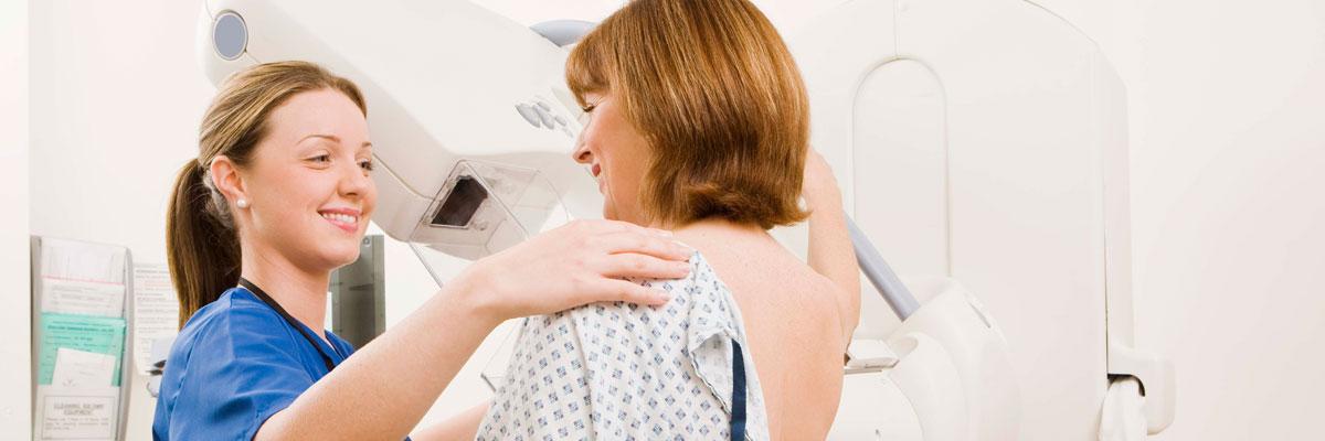 mamografía en mujeres adultas