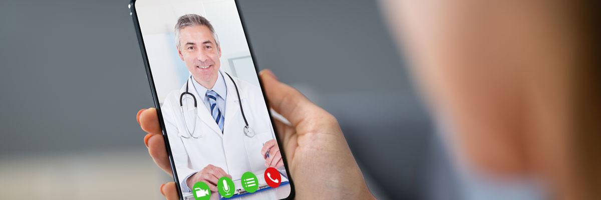 videollamada al médico especialista